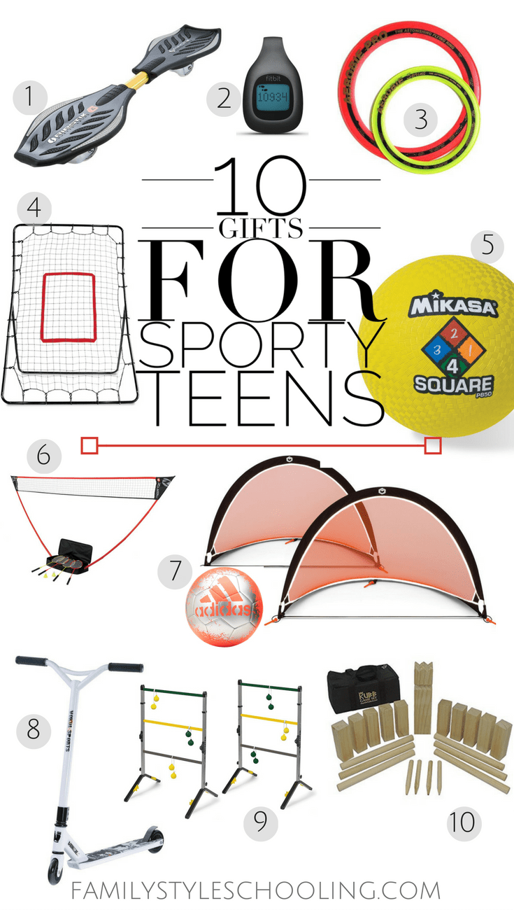 teen sports gifts
