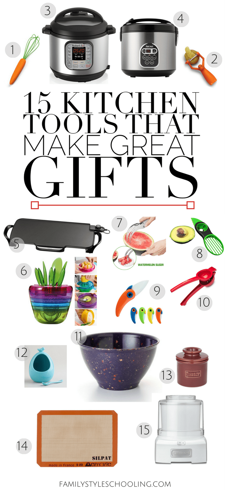 kitchen tools gift guide