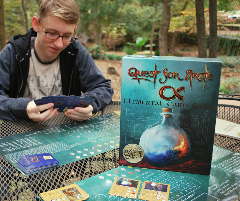 chemistry magic with quest for arete