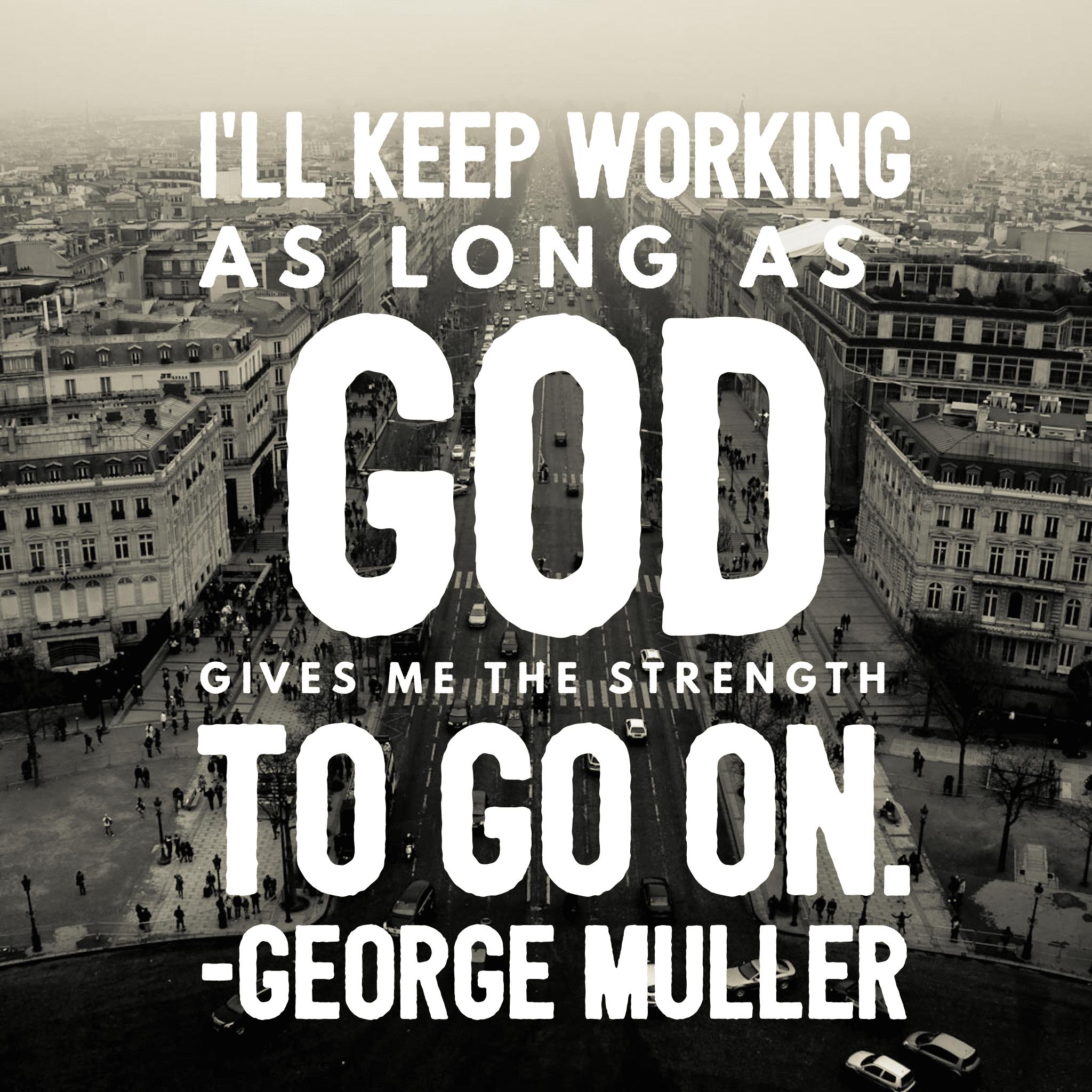 George Muller Quote