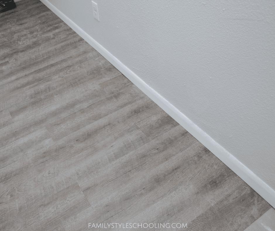 Diy Vinyl Plank Flooring Family Style Schooling Blog