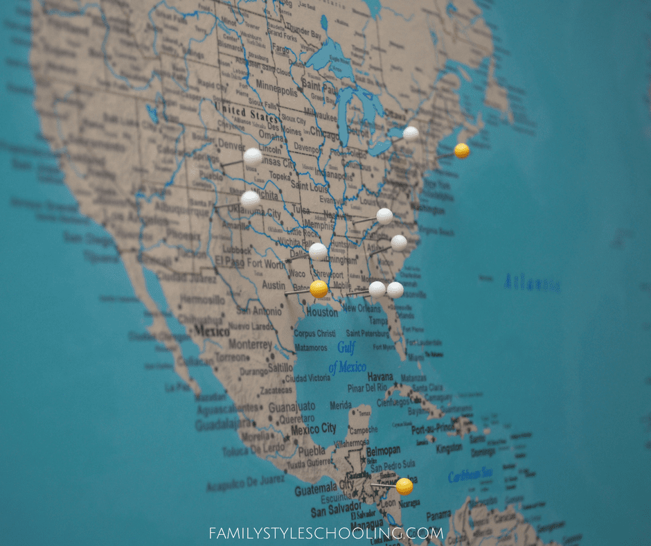 Push Pin Travel Maps Review - Family Style ing Blog Pinnable World Map on