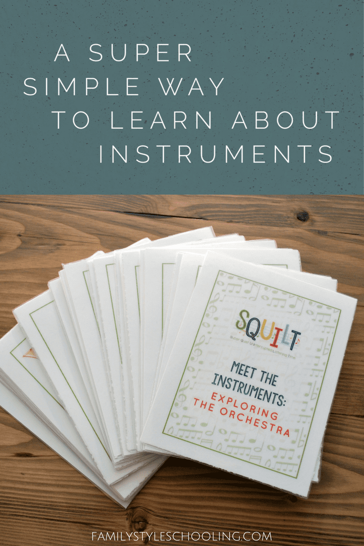 Learn about instruments