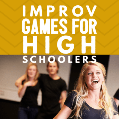 8 Entertaining Improv Games For High Schoolers
