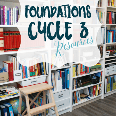 Resources for Classical Conversation Cycle 3 Foundations