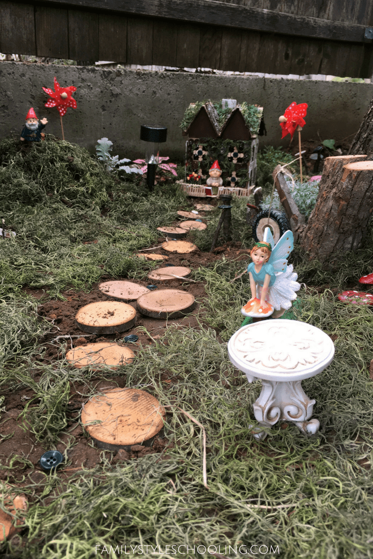 planting a fairy garden to cultivate creativity family style