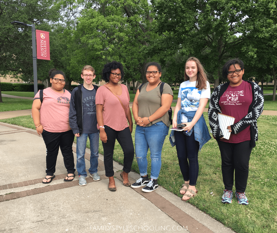College Visit Touring Austin College In Sherman Tx