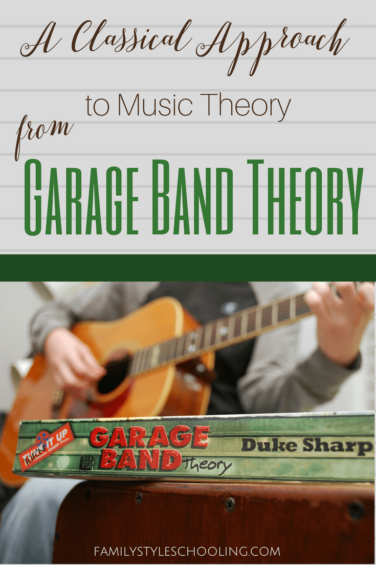 A Classical Approach to Music Theory from Garage Band Theory – Theory Worksheets for Beginning Bands