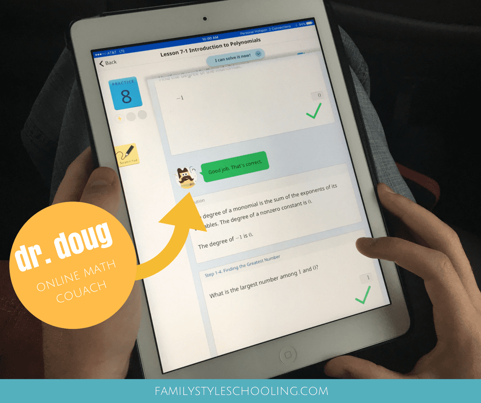 Math Practice On The Go With Knowre - Family Style Schooling