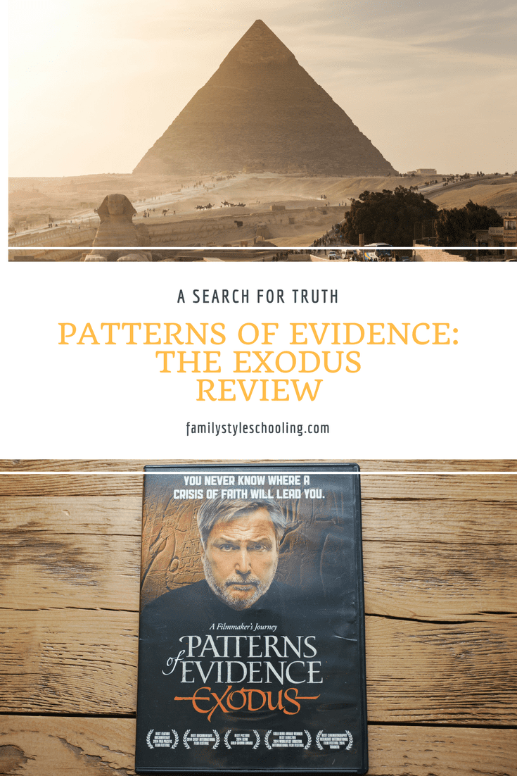 Biblical documentary presenting patterns of evidence in Exodus