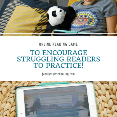 Online Reading Game to Encourage Struggling Readers to PRACTICE!