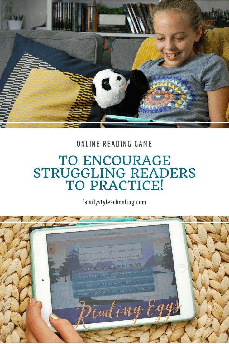 Worksheet Online Reading Help online reading game to encourage struggling readers practice games help readers