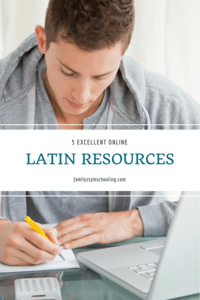 5 Excellent Online Latin Resources