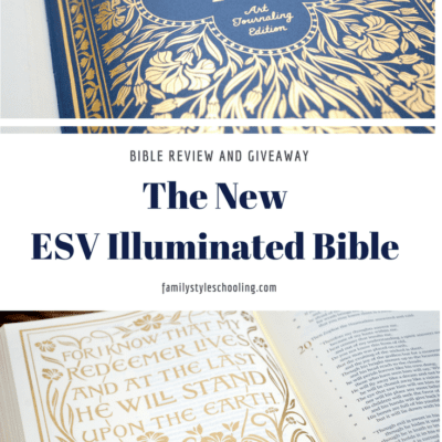 The New ESV Illuminated Bible Review and Giveaway