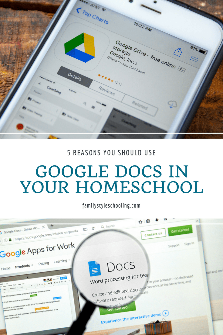 Reasons You Should Use Google Docs In Your Homeschool - Google docs for personal use