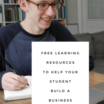 Free Learning Resources to Help Your Student Build a Business