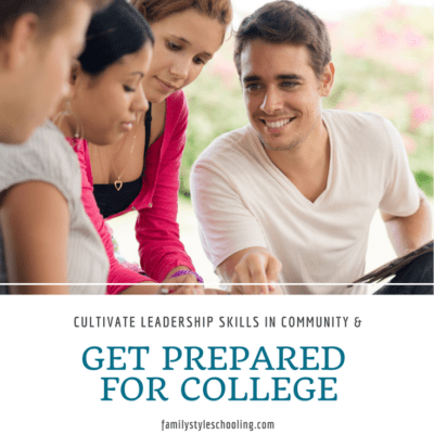 Cultivate Leadership Skills in Community and Get Prepared for College