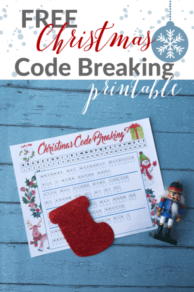 Free Christmas Code Breaking Printable