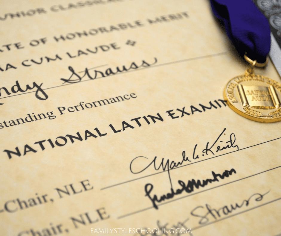 How to Prepare for the National Latin Exam - Family Style