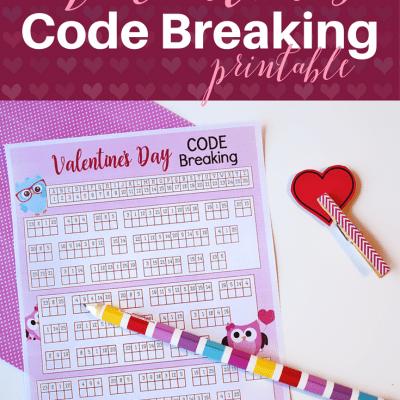 Free Valentine's Code Breaking Printable