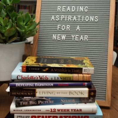 Reading Aspirations for a New Year
