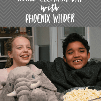 Celebrate World Elephant Day with Phoenix Wilder