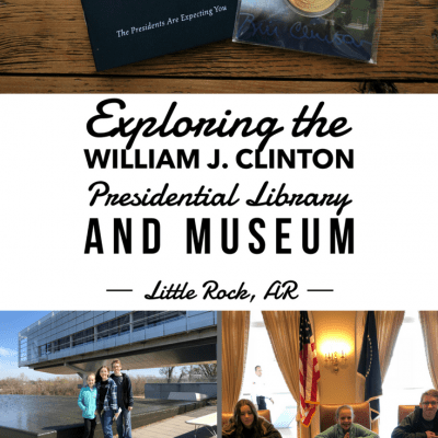 Exploring the William J. Clinton Presidential Library and Museum