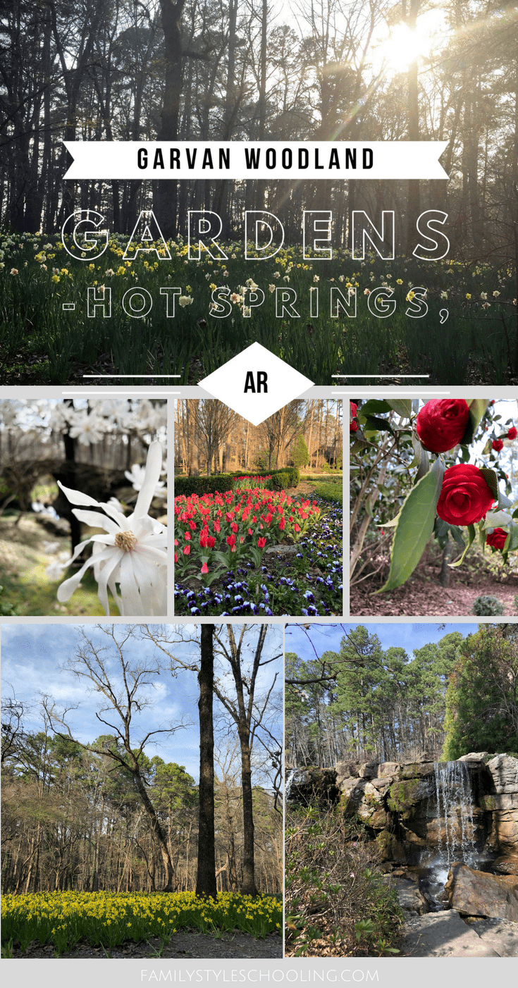 Experiencing Garvan Woodland Gardens In Hot Springs Arkansas Family Style Schooling