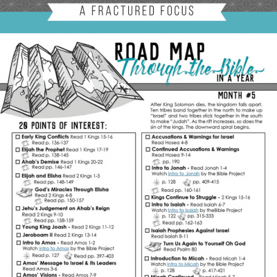 The Dangers of Cultivating a Fractured Focus – Road Map Month 5