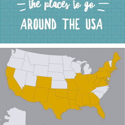 Oh The Places To Go Around the USA