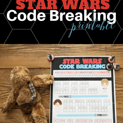May the Fourth Celebrations – Free Star Wars Code Breaker Printable