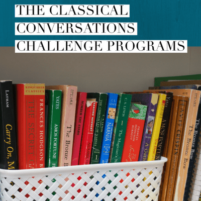 Two Student's Perspectives on the Classical Conversations Challenge Programs