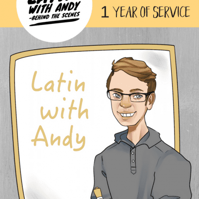 Latin with Andy – Behind the Scenes