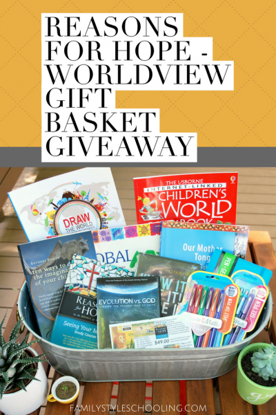 Reason for Hope – Worldview Gift Basket Giveaway