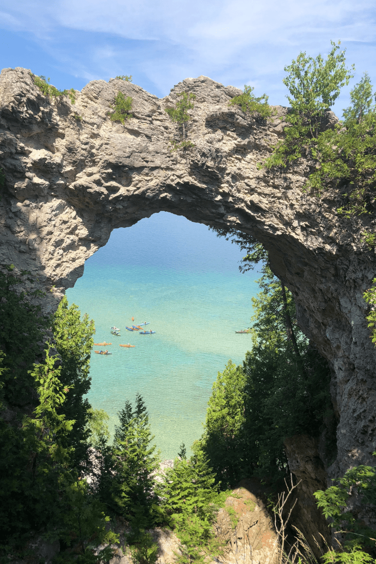 Mackinac Island Arch Rock