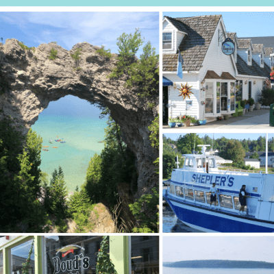 Step Back in Time at Mackinac Island Michigan