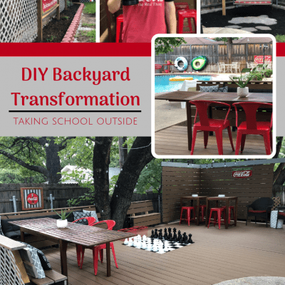 DIY Backyard Transformation: Taking School Outside