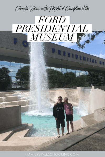 Character Shines in the Midst of Corruption at the Ford Presidential Museum
