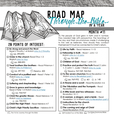 Living in Light of Eternity – Road Map Month 11