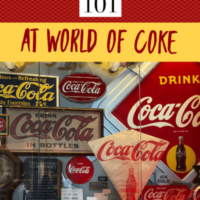 Business 101 at World of Coke