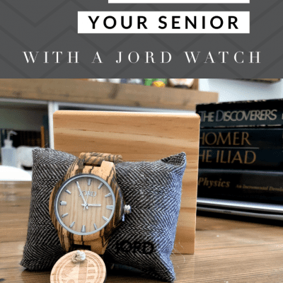Celebrate Your Time with Your Senior with a JORD Watch & a Giveaway!