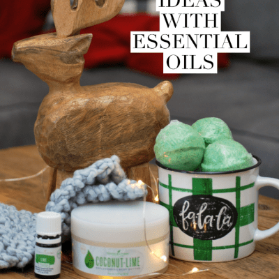 10 Gift Ideas with Essential Oils