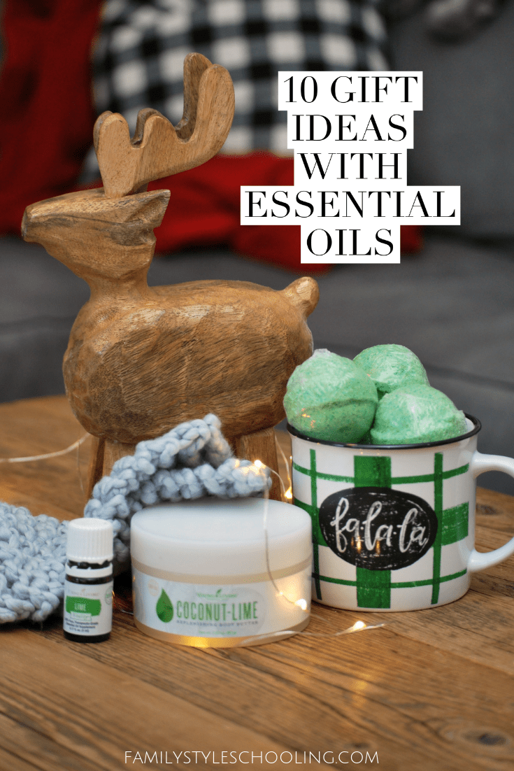 27b8c5013f88 I love essential oils and I love making gifts whenever I can. Here are ten  great ideas you can make with essential oils for anyone on your list.