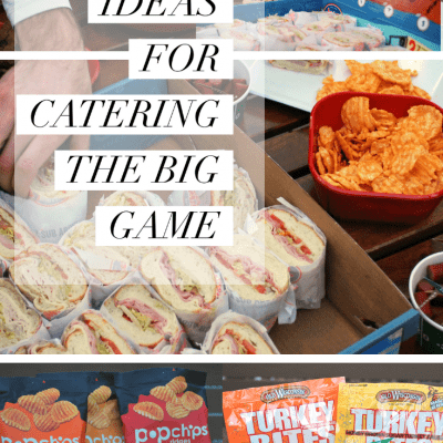 Simple Ideas for Catering the Big Game