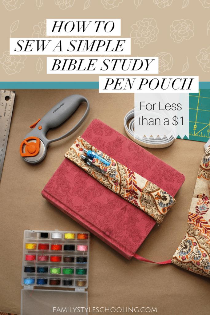 Bible Study Pen Pouch