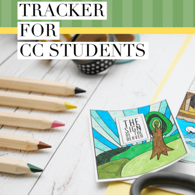 Free Summer Reading Tracker for CC Students