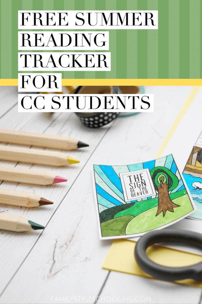 summer reading tracker