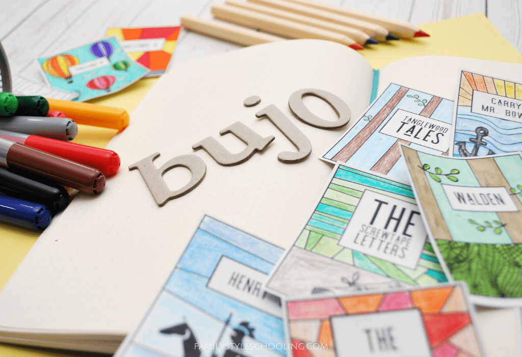reading tracker for bujo