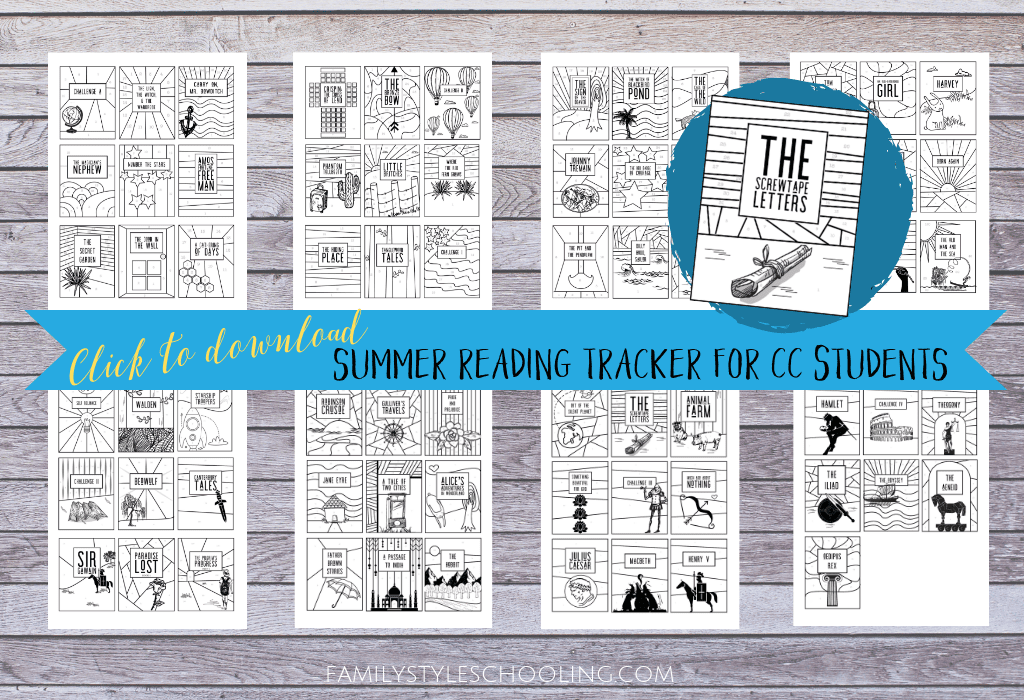 summer reading tracker free download