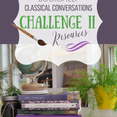 What's On My Bookshelf: Challenge II Resources
